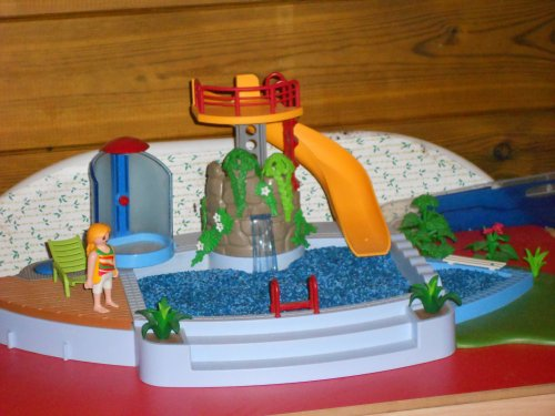 Piscine playmobile for Piscine a balle jouet club