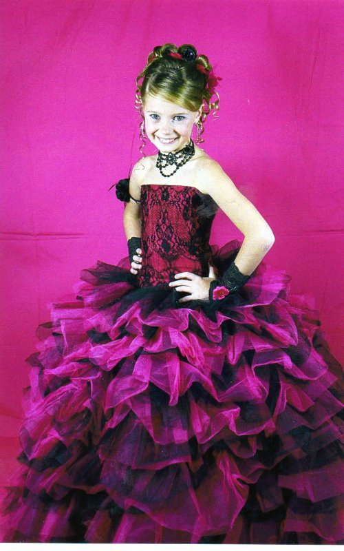 Catgorie Mini miss : 8-10 ans  
