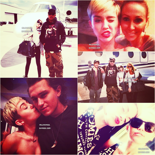 . Le 09/05/2013 : Miley allant au studio � Hollywood.  .